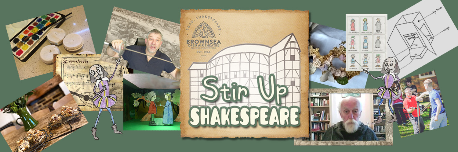 Stir-Up Shakespeare, by Brownsea Open Air Theatre